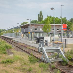 Neuer Bahnhof Borken / Westfalen