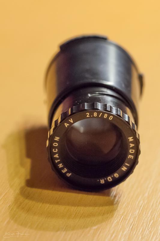 Pentacon AV 2.8/80 mm
